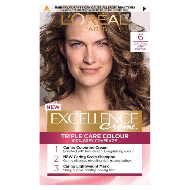 morrisons loreal excellence creme triple care colour 6