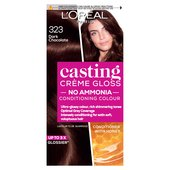 L'Oreal Casting Creme Gloss Dark Chocolate 323 at Morrisons