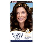 Nice 'N Easy Permanent Colour 120 Natural Dark Brown Hair Dye
