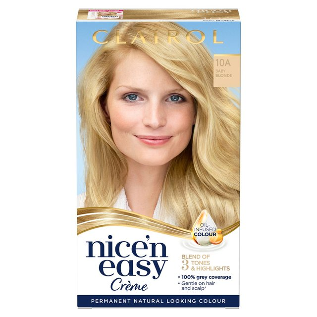 Morrisons Nice N Easy Permanent Colour 101 Natural Baby