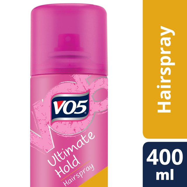 morrisons vo5 ultimate hold hairspray 400ml product information