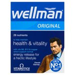Vitabiotics Wellman Tablets
