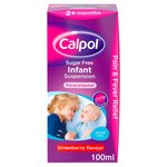 Calpol Infant 2+ Months Sugar Free Strawberry Liquid