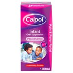 Calpol 2+ Months Infant Strawberry Liquid Paracetemol