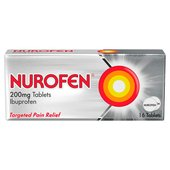 Nurofen Ibuprofen Tablets 200mg