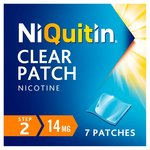 NiQuitin Clear Patch Step 2 14mg