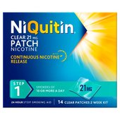 NiQuitin Clear Patch Step 1 Two Weeks