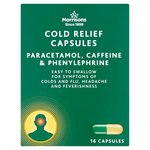 Morrisons Cold Relief Capsules