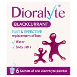 Dioralyte Natural Oral Electrolyte Powder Sachets