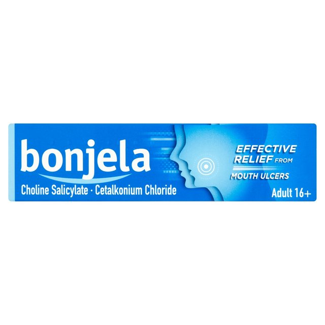 Bonjela Adult Sugar Free Oral Pain Relieving Gel