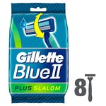Gillette Blue II Plus Slalom Plus Disposable Razors