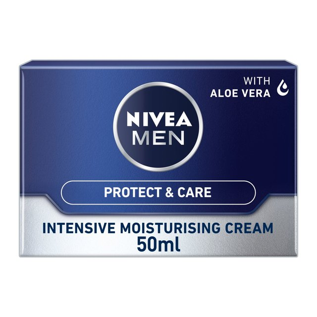 NIVEA MEN Intensive Moisturising Face Cream, Protect & Care
