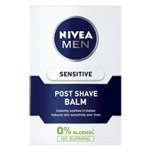 NIVEA MEN Sensitive Post Shave Balm with 0% Alcohol