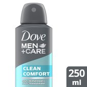 Dove Men+Care  Clean Comfort Aerosol Anti-perspirant Deodorant