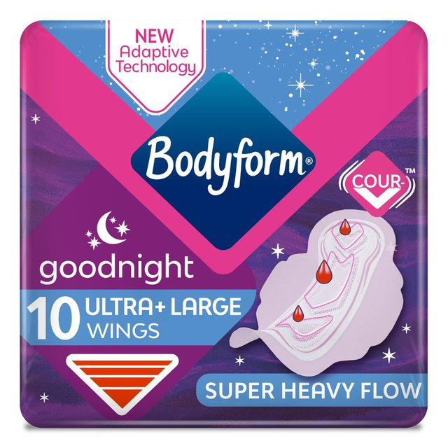 Bodyform Ultra Night Sanitary Towels