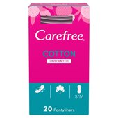 Carefree Cotton Breathable Pantyliners