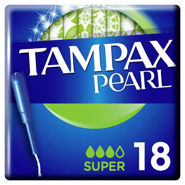 Morrisons Tampax Pearl Super With Applicator Tampons 18