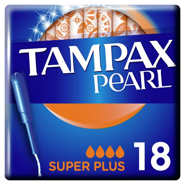 Tampax Pearl Super+ Tampons Applicator