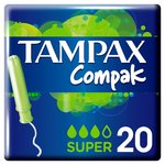 Tampax Compak Super with Applicator Tampons