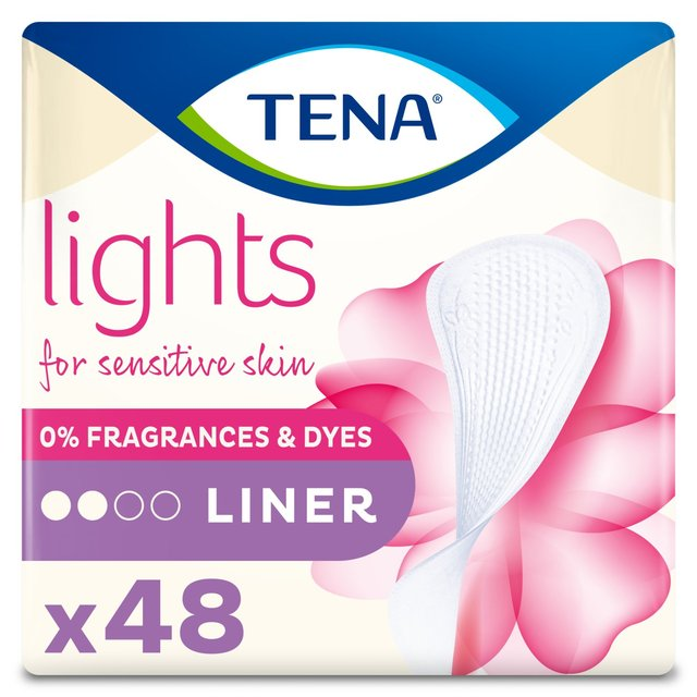 lights by TENA Incontinence Liners Duo