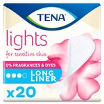 lights by TENA Long Incontinence Liners