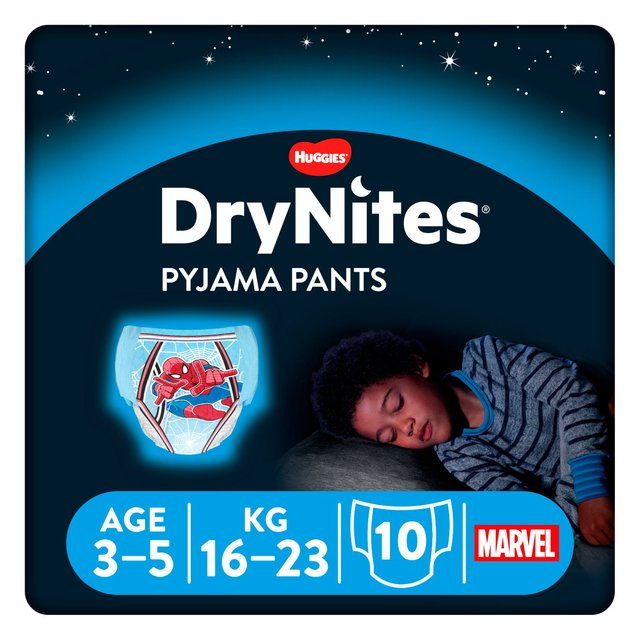 Huggies DryNites Boys Pyjama Pants 3-5 years