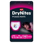 Huggies DryNites Girls Pyjama Pants 3-5 years