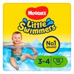 Huggies Little Swimmers Size 3-4  7-15kg
