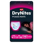 Huggies DryNites Girls Pyjama Pants 4-7 years