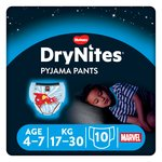 Huggies DryNites Boys Pyjama Pants 4-7 years