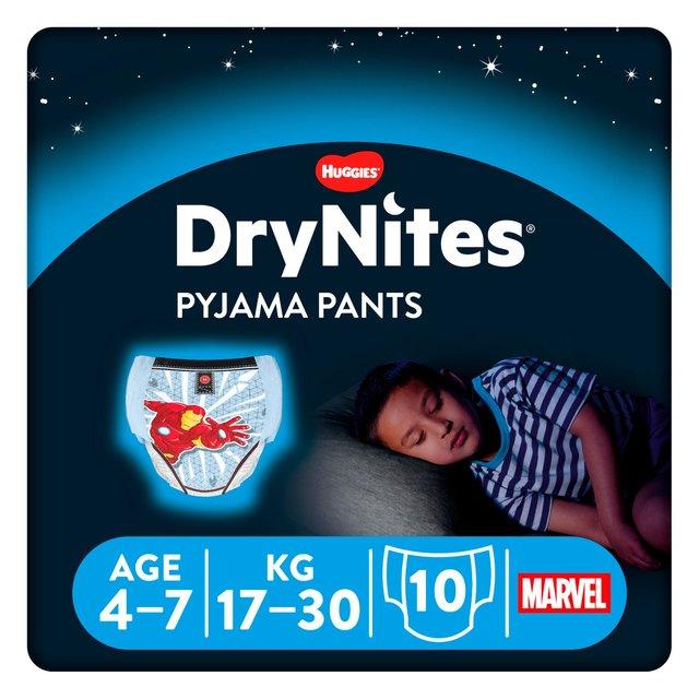 Huggies DryNites Boys Pyjama Pants 4-7 years