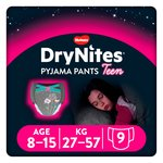 Huggies DryNites Girls Pyjama Pants 8-15 years
