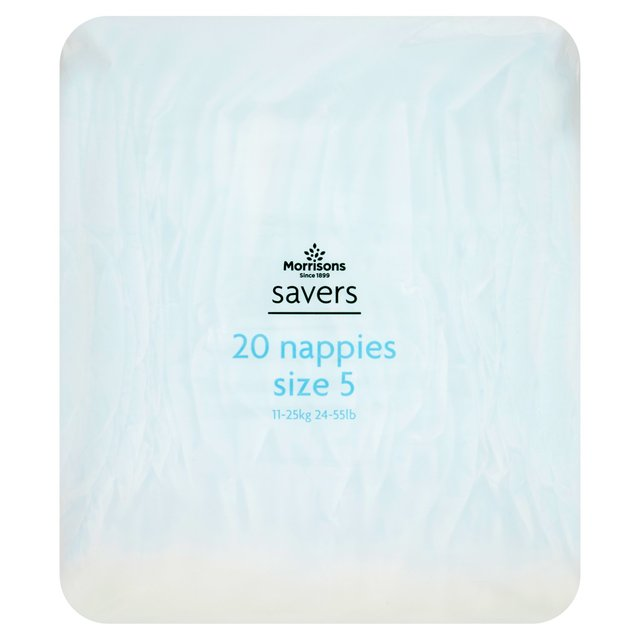 Morrisons Savers Nappies Size 5 11-25kg