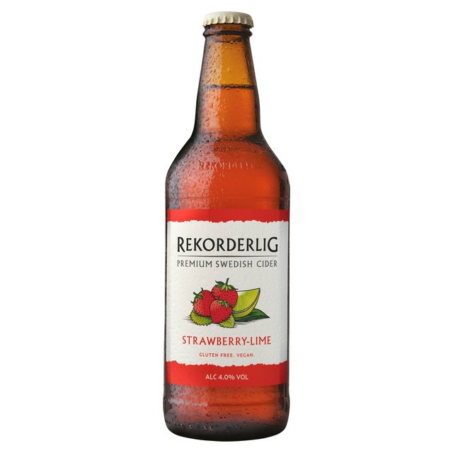 Rekorderlig Premium Strawberry-Lime Cider