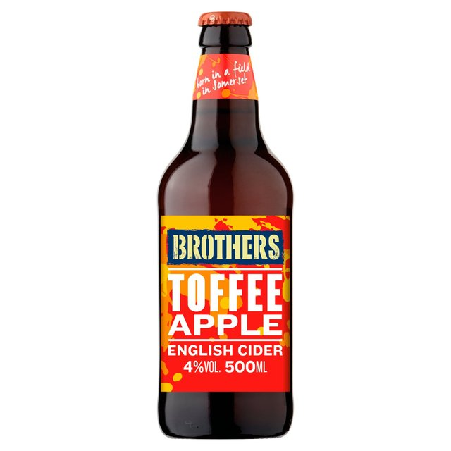 Brothers Toffee Apple Premium Cider Bottle