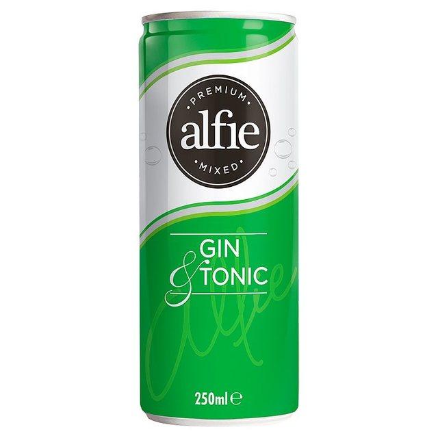 Morrisons alfie gin tonic 250ml product information for Best mix with gin