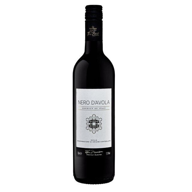 Morrisons The Best Nero d'Avola, Sicily, 2017