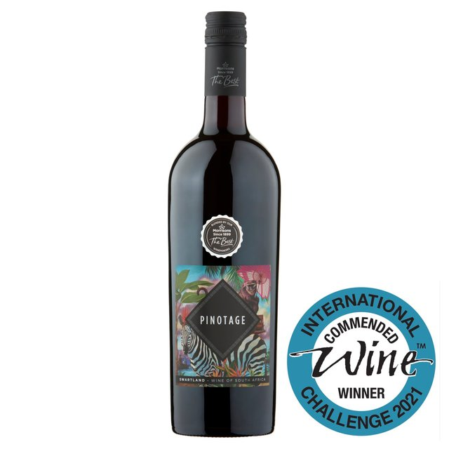 Morrisons wm morrison south african pinotage 75cl product for Jardin wine south africa