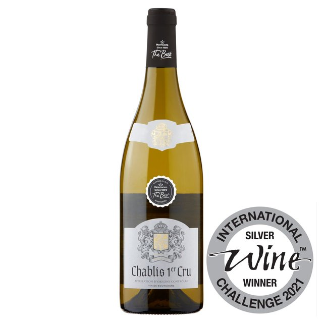 Morrisons The Best Chablis 1er Cru 2013, Burgundy, France