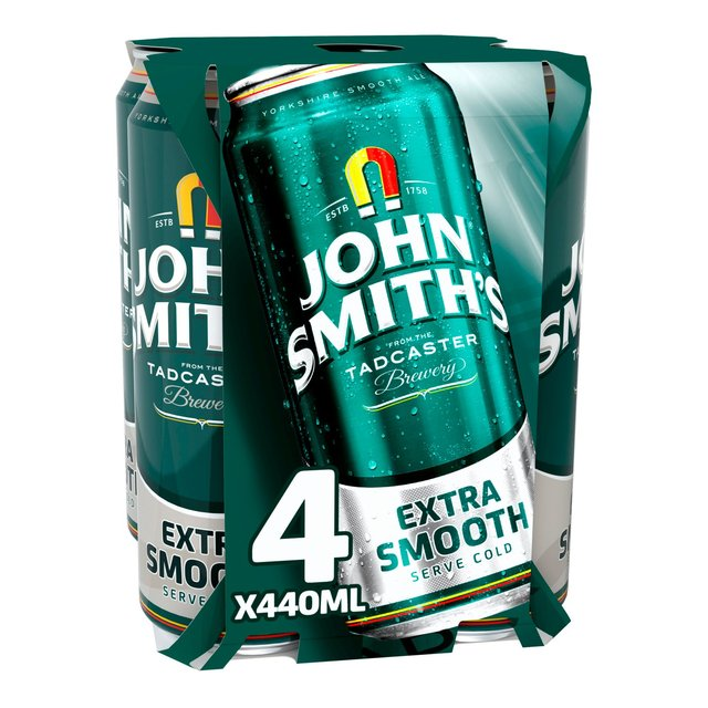 John Smith's Extra Smooth Ale Can