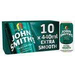 John Smith's Extra Smooth Ale Cans