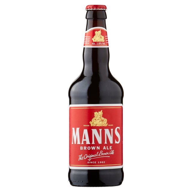Manns Brown Ale Bottle