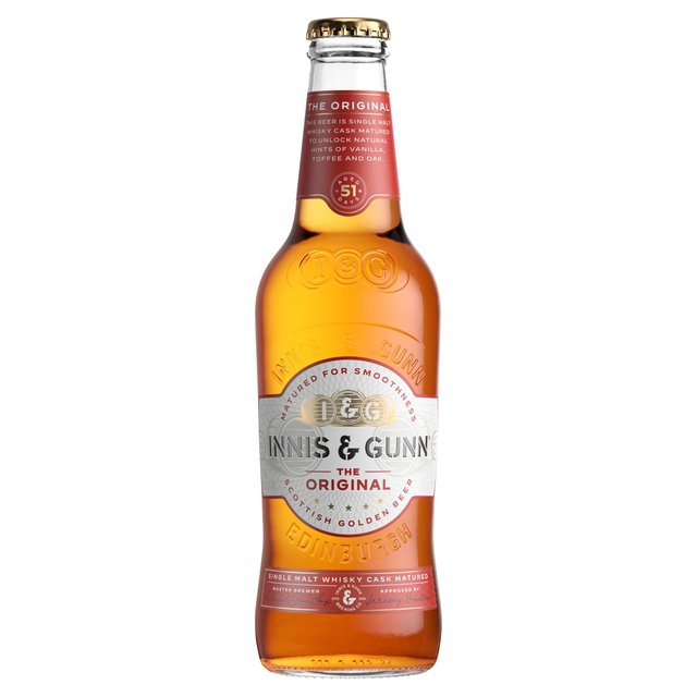 Innis & Gunn Oak Aged Beer Bottle