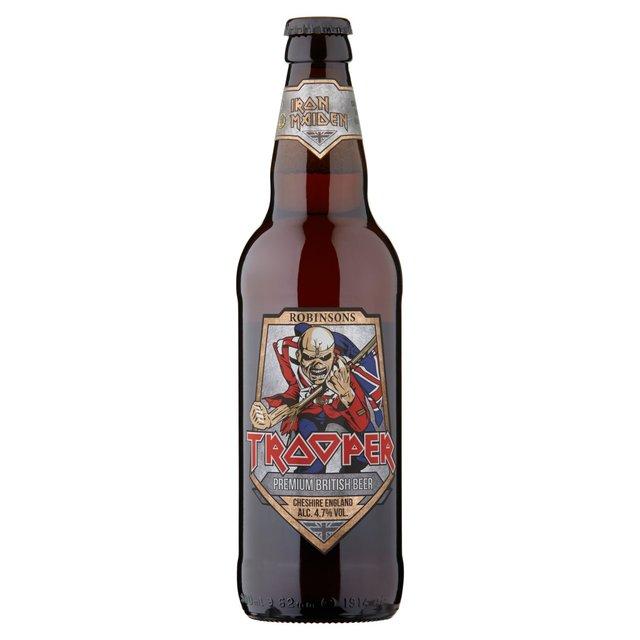 Robinsons Brewery Iron Maiden Trooper Premium British Beer Bottle
