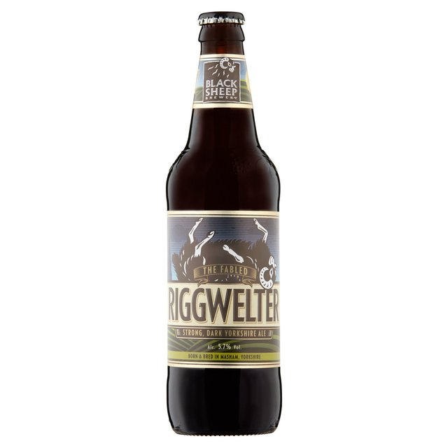 Black Sheep Riggwelter Strong Yorkshire Ale Bottle