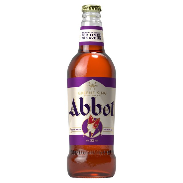 Greene King Abbot Ale Bottle
