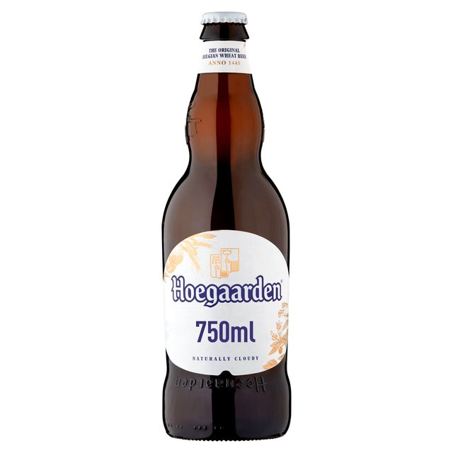 Hoegaarden White Beer Bottle