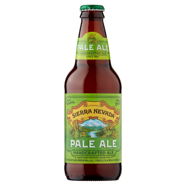 Sierra Nevada Pale Ale Bottle