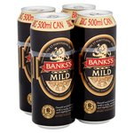 Bank's Mild Cans