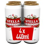 Stella Artois Cans, Delivered Chilled